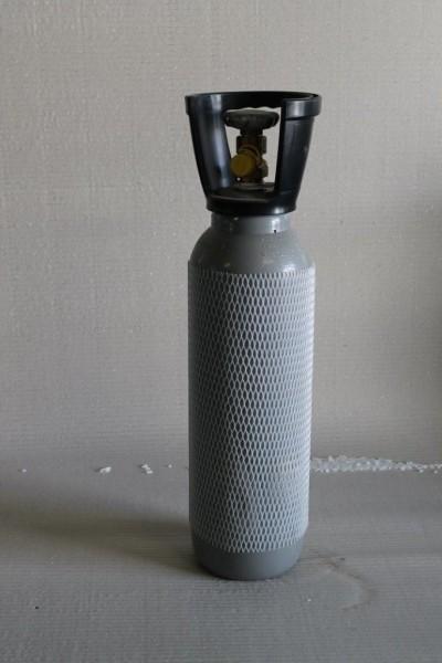 Kohlensäureflasche, Stahlflasche inkl. Füllung