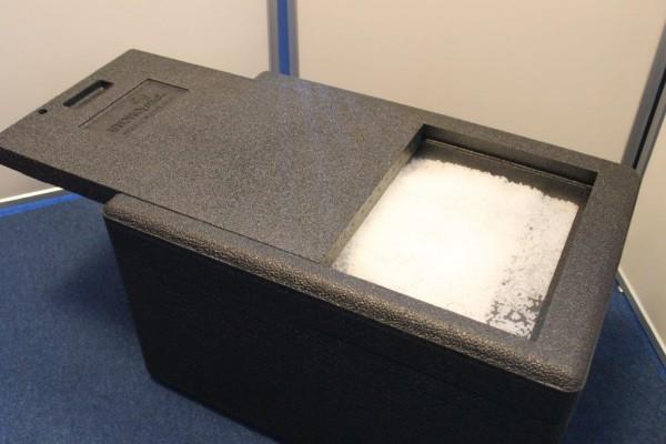 Isolierbox / Thermoshipper (ohne Trockeneis)
